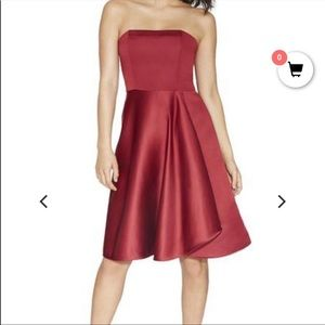 NWT Halston Heritage Strapless Cocktail Dress 2